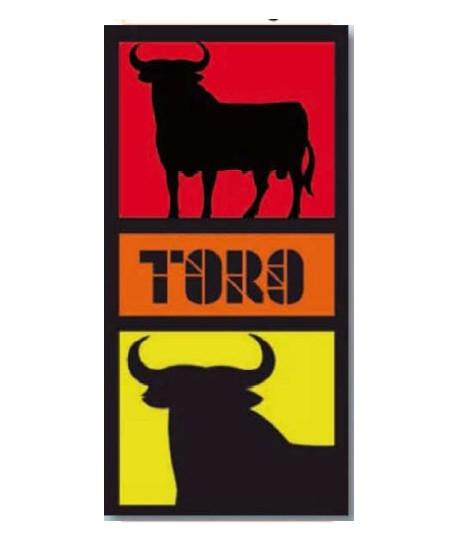 TOALLA 76X152 TERCIOPELO ESTAMPADA TORO