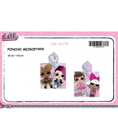 PONCHO PLAYA 70X140 L.O.L. LOL 18-173