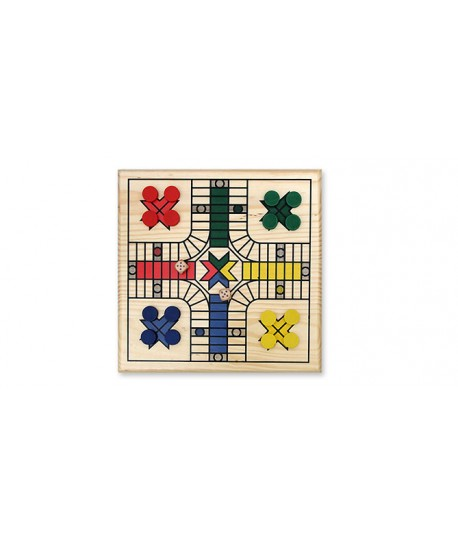 PARCHIS MADERA 26,5X26,2CM