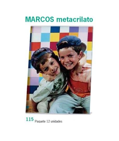 MARCOS METACRILATO 10X15 PACK 12UN