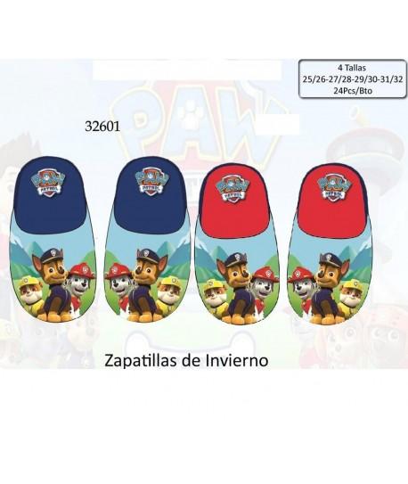 ZAPATILLA DE INVIERNO PAW PATROL TALLAS 25/26,27/28,29/30,31/32