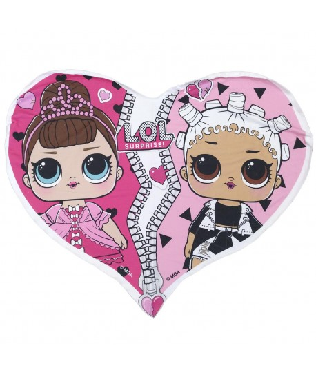 TOALLA FORMA LOL 10.0 X 10.0 X 18.0 CM POLYESTER 250 GSM