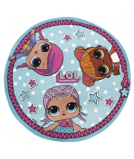 TOALLA FORMA LOL 13.0 X 13.0 X 22.0 CM POLYESTER 250 GSM