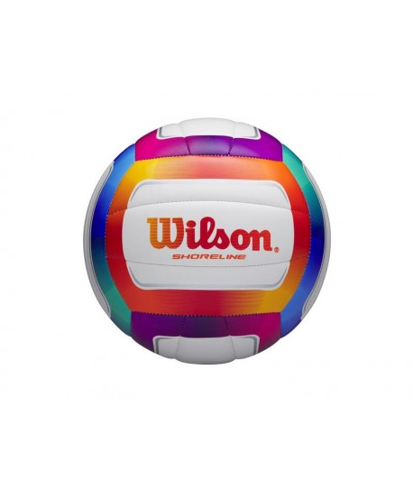 WILSON VOLLEYBALL SHORELINE VB MULTI COLOR RECREATION OUTDOOR - OPTX
