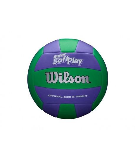 WILSON VOLLEYBALL SUPER SOFT PLAY VB GRPR RECREATION OUTDOOR - OPTX