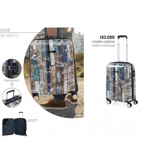 MALETA CABINA SKPAT BOARDS 40X55X20CM NEGRO