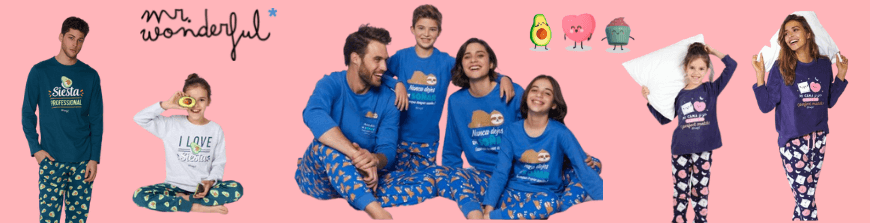 Pijamas Mr. Wonderful 2021