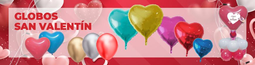 Blobos y guirnaldas San Valentín