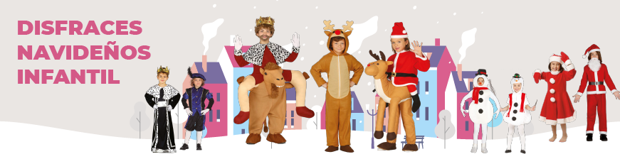 Disfraces Navidad Infantil