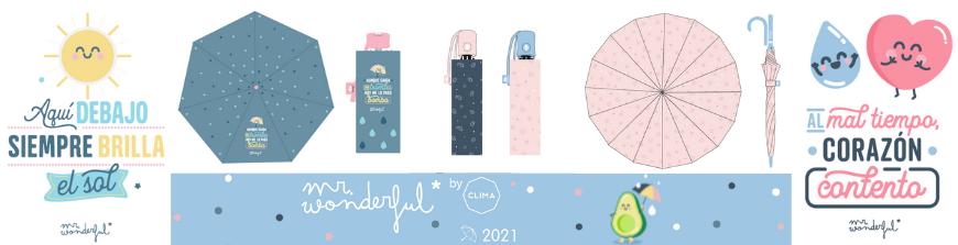 Paraguas Mr. Wonderfull 2021